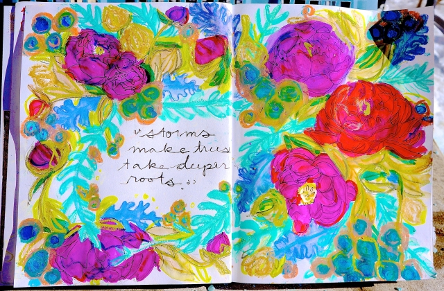 my art journal page