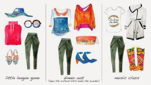 A Creative Style Meets Art Collaboration: A Season-Less Starter Wardrobe