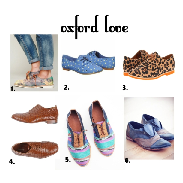 my favorite oxfords for Autumn 2014